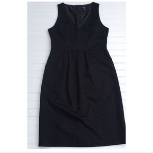 J. CREW BLACK LABEL little black dress